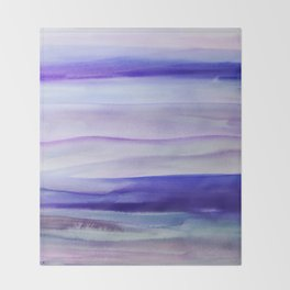 Purple Mountains' Majesty Throw Blanket