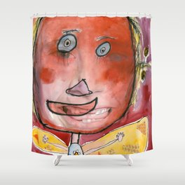 I feel excited Shower Curtain