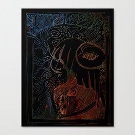 Goddess of Change Canvas Print