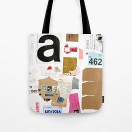 Paper Trail I  Tote Bag