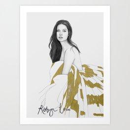 ADRIANA Art Print