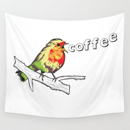 The Early Bird Catches the.... Wall Tapestry