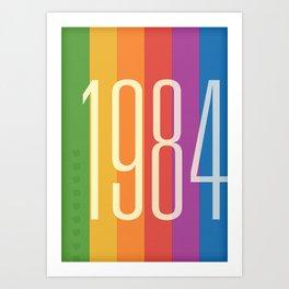1984 (v) Art Print