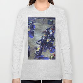 Lets Race!  - Motocross Racers Long Sleeve T-shirt
