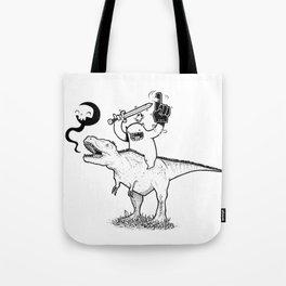 Dino&Dude Tote Bag