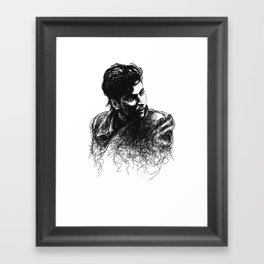 Alan Framed Art Print