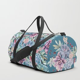 Succulents - For the Memory of a Never-ending Love Duffle Bag