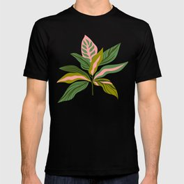 Tropical leaves T-shirt