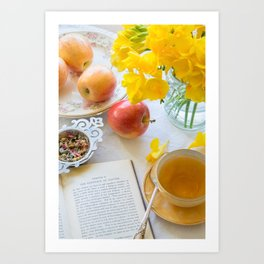 Tea and Philosophy Art Print