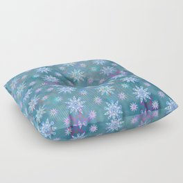 Mela's Sense of Snow Floor Pillow
