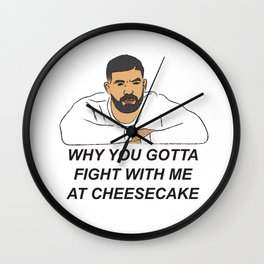 Drake Childs Play Wall Clock