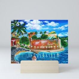 La Fortaleza, Old San Juan, Puerto Rico Mini Art Print