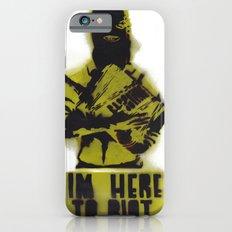 WRG - Weekly Riot Group iPhone 6s Slim Case