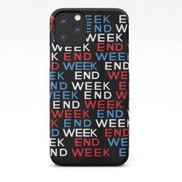 ek end week iPhone Case