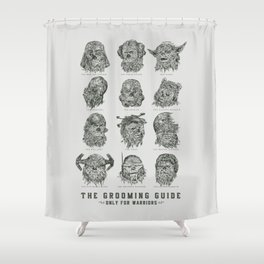 The Grooming Guide Shower Curtain