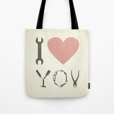 Love tool Tote Bag