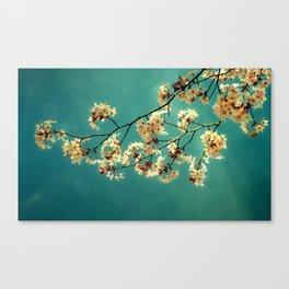 Henna Blossoms Canvas Print