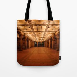 Bethesda Terrace in Central Park Tote Bag