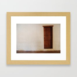 The portal. Framed Art Print