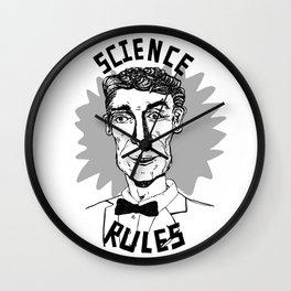 Bill Nye Forever Wall Clock