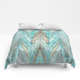 Wood Texture 1 Comforters