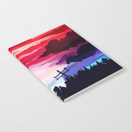 80's Sky Notebook