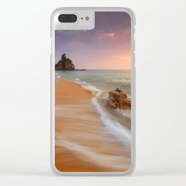 Hot Beach CC Clear iPhone Case