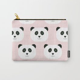 Panda Love -Pink Carry-All Pouch