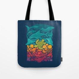Aquatic Spectrum Tote Bag