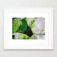 moss Framed Art Prints featuring Moss by Darkest Devotion