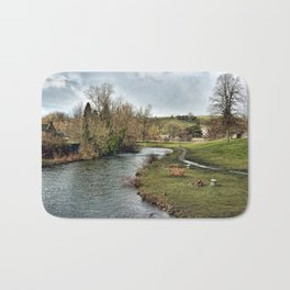 River Wye at Bakewell Bath Mat