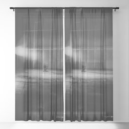 The Interview Sheer Curtain