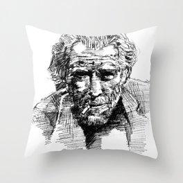 Portrait 9 Throw Pillow