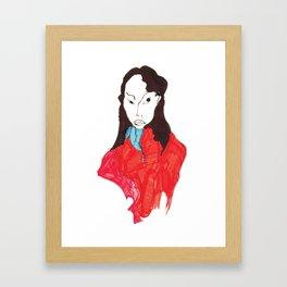 Judgement Framed Art Print