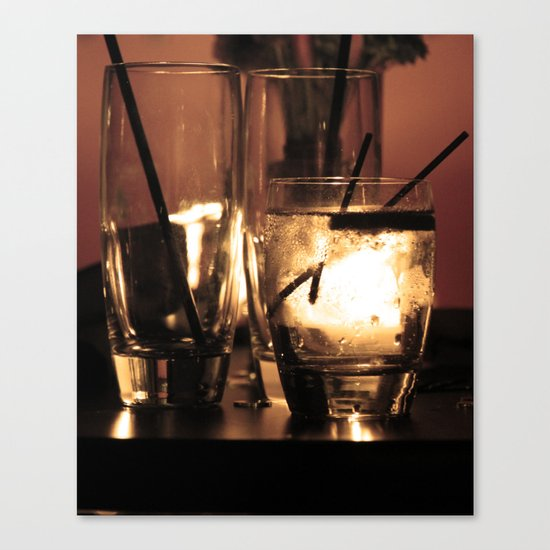 End Of The Evening Canvas Print