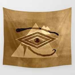 Egyptian eye Wall Tapestry