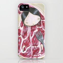 UNDERCOOKED STEAK iPhone Case