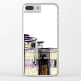 GALLERY SQUARE CHALET Clear iPhone Case