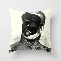 bdsm Throw Pillows featuring BDSM XXVIII by DIVIDUS
