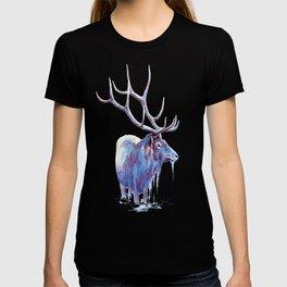 Elk in Water T-shirt