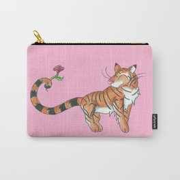Striped Swooner Carry-All Pouch
