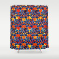 dylan Shower Curtains featuring Dylan by Bunyip Designs