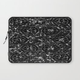 Black and white astral paint 5020 Laptop Sleeve