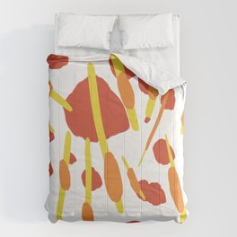 Nature decomposed decor Comforters