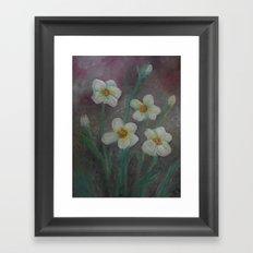 Forget-Me-Never Framed Art Print