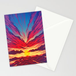 Rise - Cloud Series Stationery Cards