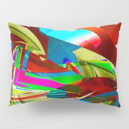 restricted view Pillow Sham