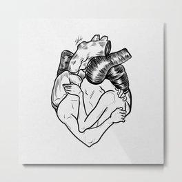 One heart. Metal Print
