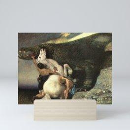 Monster brains_Maximilian Pirner  Czech painter (1854-1924) Mini Art Print