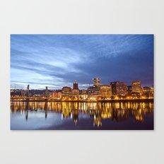 That Portland Skyline Canvas Print